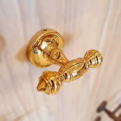 Cabide Clássico Ouro Real Dourado