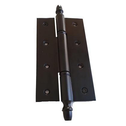 Dobradiça Torpedo 6 X 3 1/2 polegadas Preto Fosco