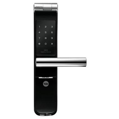Fechadura Digital e Biometria Yale YMF 40 com Maçaneta