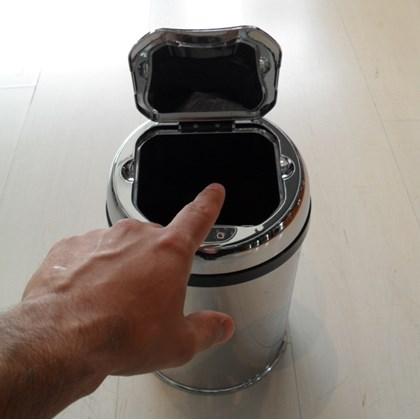 Lixeira Automática Inox 3 Litros