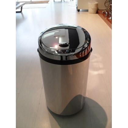 Lixeira Automática Inox 30 Litros
