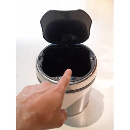 Lixeira Automática Inox 6 Litros