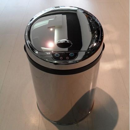 Lixeira Automática Inox 9 Litros
