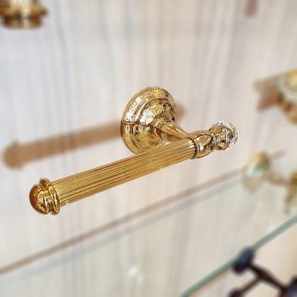 Porta Papel Clássico Marrocos Dourado
