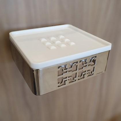 Porta Papel Zen By Zen Inox Polido