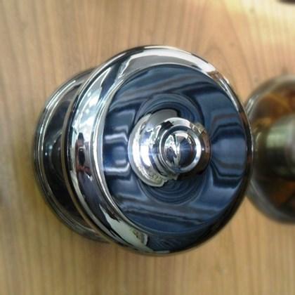 Puxador Alça Bola Torneada Maciça 5 polegadas Cromado