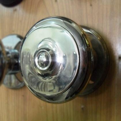 Puxador Alça Bola Torneada Maciça 5 polegadas Níquel Prata