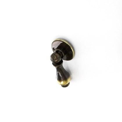 Puxador Antique Pingente PA6503 Latão Ouro Velho