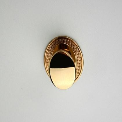 Puxador Beetle com Base Granada Gold Zen