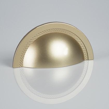 Puxador Concha Shell Dourado Fosco Zen