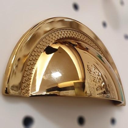 Puxador Concha Shell Gold Zen