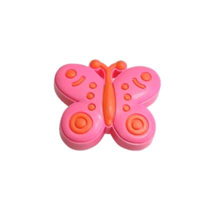 Puxador Infantil Borboleta Rosa