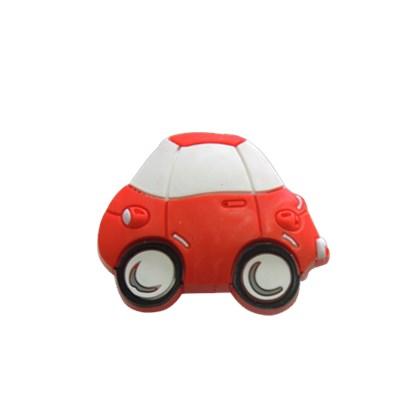 Puxador Infantil Carro Vermelho 47 mm