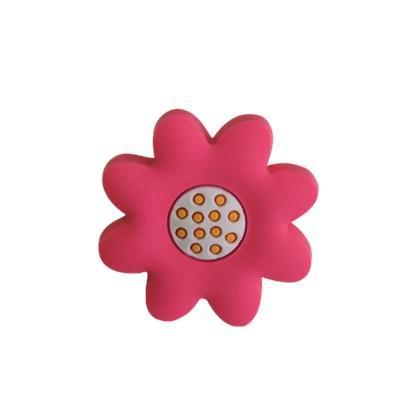 Puxador Infantil Flor Rosa