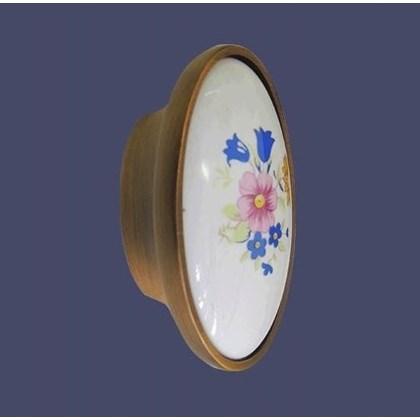 Puxador Oval cerâmica 202 Italy line